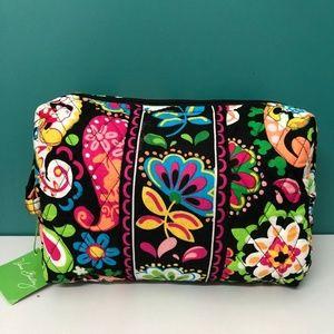 NWT Vera Bradely Large Cosmetic Bag Mickey